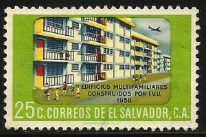 El Salvador 1960 Scott# 709 Used