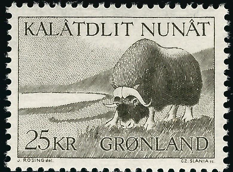 Greenland #75 MNH CV$9 Musk Ox