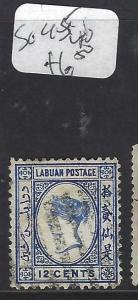 LABUAN  (P1601BB) QV  12 C  SG 45     VFU