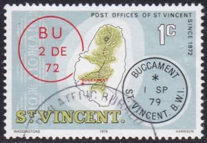 St Vincent 1979 SG582 Used