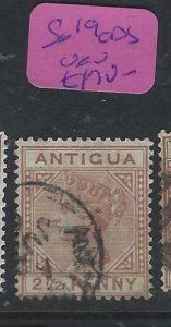 ANTIGUA   (PP0807B)  QV  21/2D  SG 19  CDS   VFU