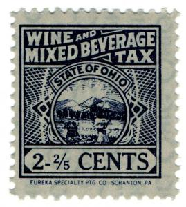(I.B) US Revenue : Wine & Mixed Beverage Tax 2 2/5c (Ohio)