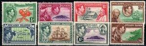 Pitcairn Islands #1-5, 6, 7-8 F-VF Unused CV $30.25  (X9702)