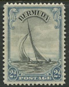 Bermuda - Scott 108 - Pictorial Definitives -1936 - MLH - Single 2p Stamp