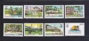 Seychelles 495-502 Set MNH Tourism (B)