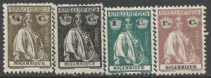 MOZAMBIQUE 182-185 MOG CERES Z405