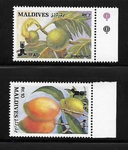 Maldives 1988 Int'l fund for agricultural Development MNH A245