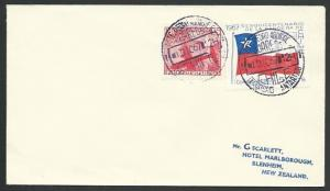 CHILE ANTARCTIC 1967 cover - base cancel...................................53568