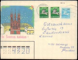 Lithuania, Postal Stationery, Horses