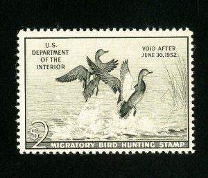 US Stamps # RW18 VF OG NH Fresh Catalog Value $90.00