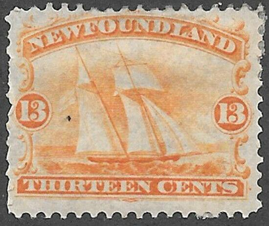 Newfoundland Scott Number 30 FVF H