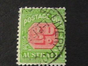 AUSTRALIA # J57-USED---POSTAGE DUE---1931-36