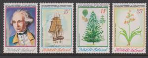 Norfolk Island 1974 Captain Cook Sc#175-178 MLH