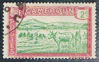 Cameroun 171 Used Herder and Cattle (BP5416)