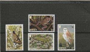 Jersey  Scott#  507-510  MNH  (1989  WWF)