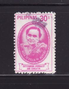 Philippines 1389 Set U Rosa Sevilla de Alvero, Writer (B)