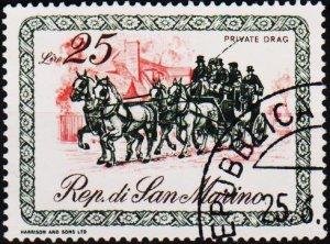 San Marino. 1969 25L S.G.866 Fine Used