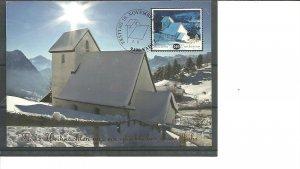 Liechtenstein Maxi Card House Architecture Nature 2014