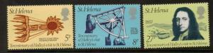 ST.HELENA SG335/7  1977 HALLEYS VISIT  MNH