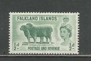 Falkland Islands Scott catalog # 122 Unused HR