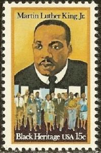 1771 Martin Luther King, Jr. F-VF MNH single