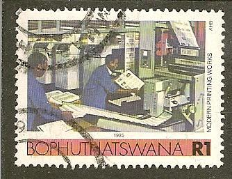South Africa--Bophuthatswana  Scott 158  Printing   Used