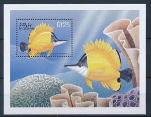 [36652] Maldives 1998 Marine life Fish MNH Sheet