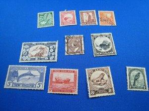 NEW ZEALAND  -  SCOTT # 185//210   USED   (wwn22)