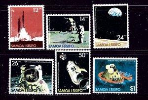 Samoa 507-12 MNH 1979 Moon Landing Anniv