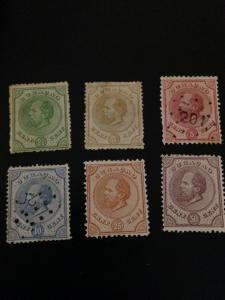 Netherland Antilles sc 1-6 MNG + UHR