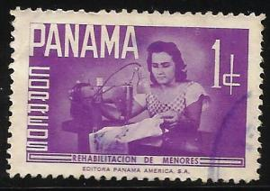 Panama Postal Tax 1961 Scott# RA42 Used