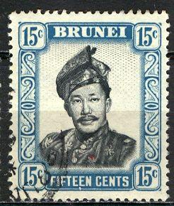 Brunei ; 1952: Sc. # 91: O/Used Single Stamp