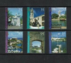 Bermuda: 2004, Royal Navy Dockyard Bermuda, MNH set