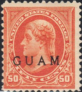 GUAM 11 F-VF MH (21319)