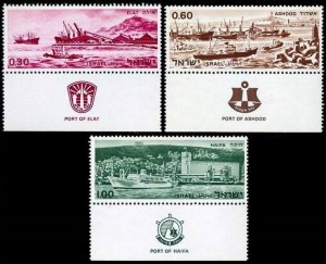 1969 Israel 433-435 Ports of Israel 3,00 €