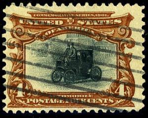 U.S. #296 Used F-VF