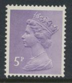 GB Machin SG X866 Mint Never Hinged - 5p