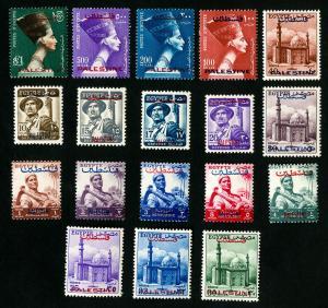 Egypt Stamps # N39-56 XF OG NH Catalog Value $221.90