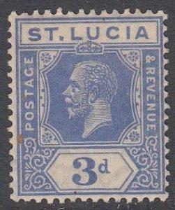 St. Lucia 83 MH CV $7.00