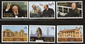 ANGUILLA Scott 193-198 MNH** set