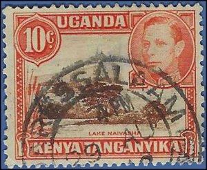 Kenya,Uganda and Tanganyika #69 1938 Used