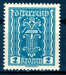 Austria; 1922: Sc. # 252: **/MNH Single Stamp