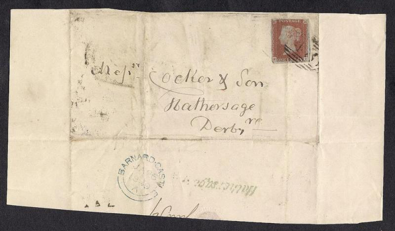 #3 - On Cover - Jan. 26, 1849 - Green Hathersage