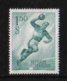 Austria 1959 MNH sports 1S 50    #