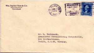 United States Washington Bicentennia 5c Washington Bicentennial 1933 Clevelan...