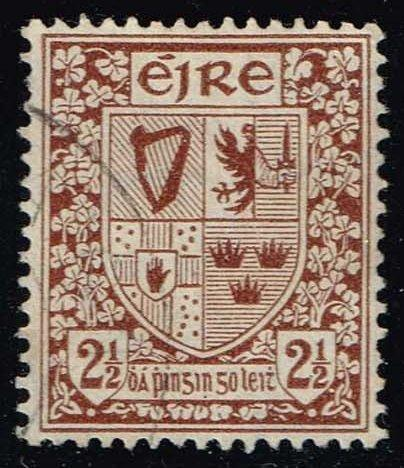 Ireland #110 Coat of Arms; Used (3.50)