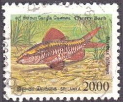 Sri Lanka # 980 used ~ 20r Fish