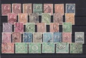 ROMANIA MOUNTED MINT AND USED STAMPS  REF 1104