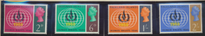Falkland Islands Stamps Scott #162 To 165, Mint Never Hinged - Free U.S. Ship...