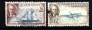 Barbados 221-2 used